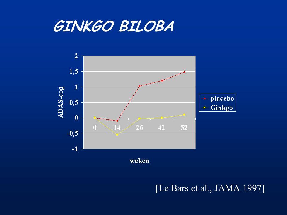 GINKGO BILOBA [Le Bars et al., JAMA 1997]